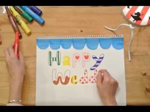【結婚祝】 2012年11月23日 結婚おめでとうメッセージビデオ・スケッチブックリレー