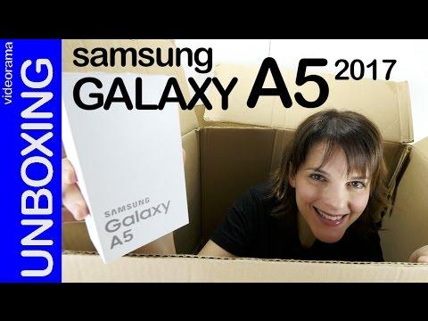 Samsung Galaxy A5 2017 unboxing | 4K UHD