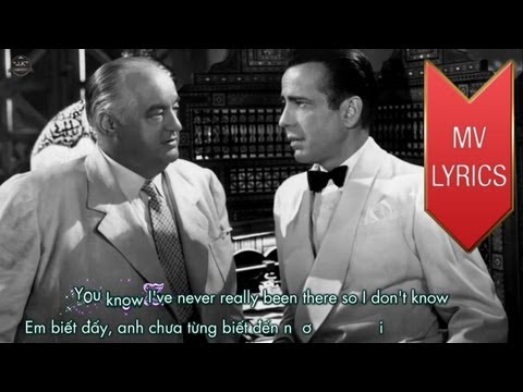 Casablanca | Bertie Higgins | Lyrics [Kara + Vietsub HD]