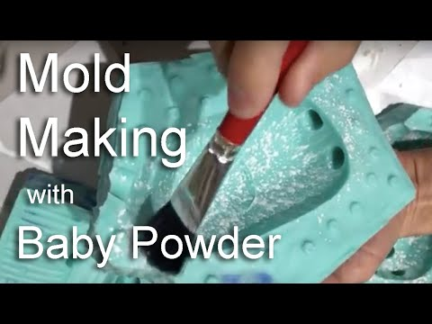 Mold Making Tips- Baby Powder as a mold release