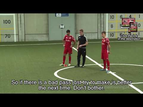 German Training Concepts - 23 Drills in the Passing-Triangle