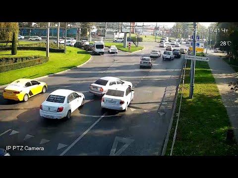 ДТП в Краснодаре за 24.10.19