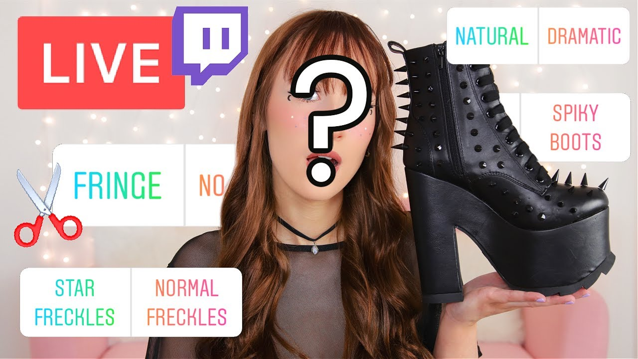 I Went *LIVE* To Let YOU Choose My Look For The Day...