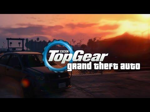GTA 5 | Top Gear | The Race Across Los Santos