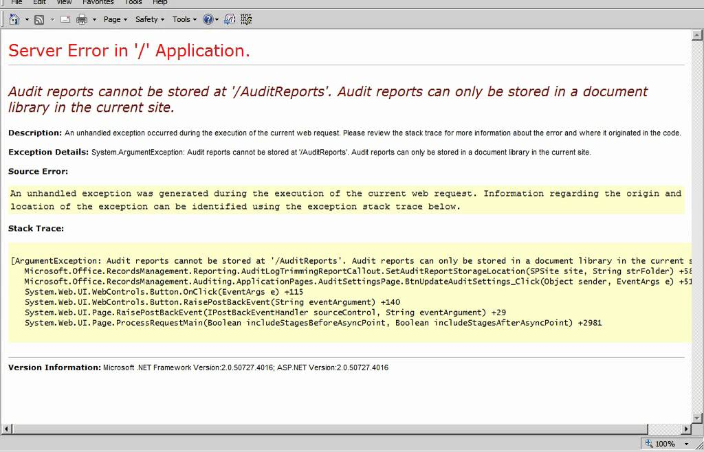 Enable Auditing SharePoint 2010 - YouTube - audit reports