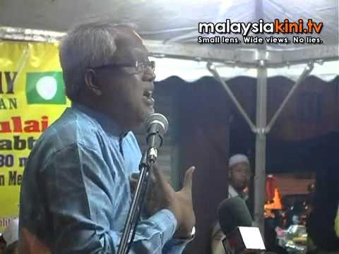 Mahfuz at a PAS Bersih 2.0