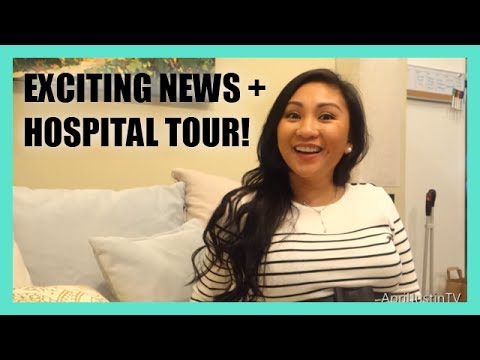 Exciting news + Labor & Delivery Hospital Tour! Travel Video