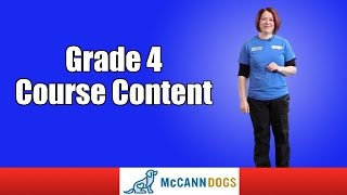 Grade 4 Course Content Family Dog Obedience