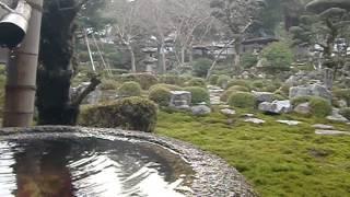 大本山天野山 金剛寺 枯山水庭園(河内長野市)
