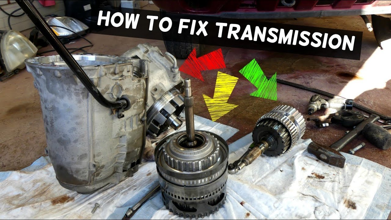 HOW TO FIX TRANSMISSION THAT DOES NOT SHIFT