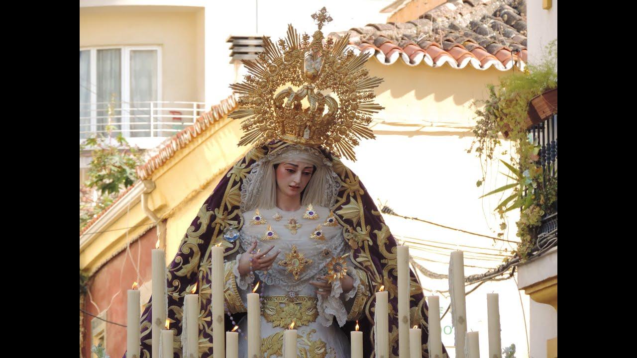 Resultado de imagen de maria santisima de la trinidad de malaga