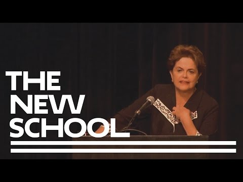Economic Crisis and Democracy in Brazil: A Talk with Dilma Rousseff (English) | The New School