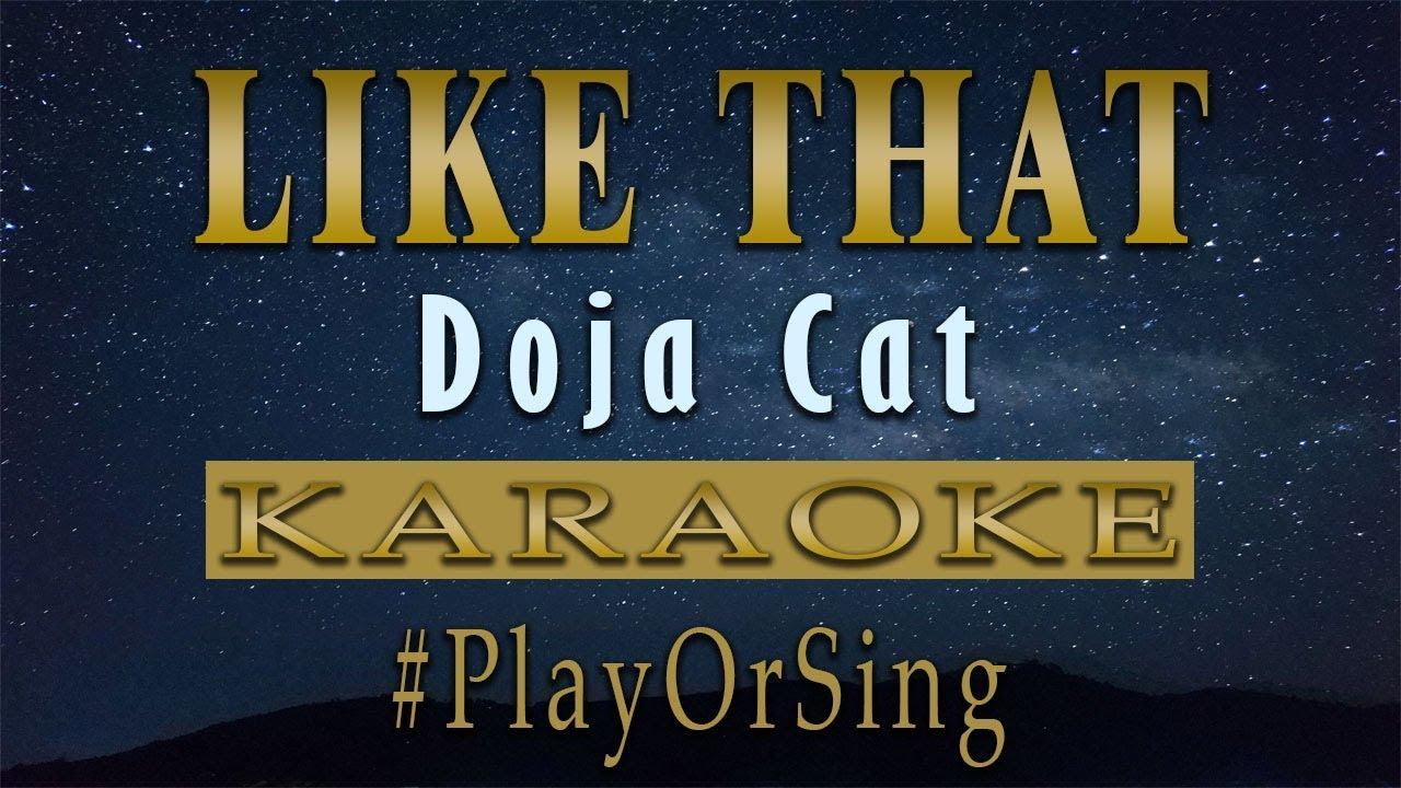 Like That - Doja Cat (KARAOKE VERSION)