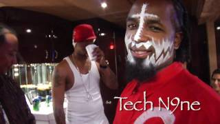 Tech N9ne teaches NUMP how to make a Kansas City Tea KCtea -exclusive