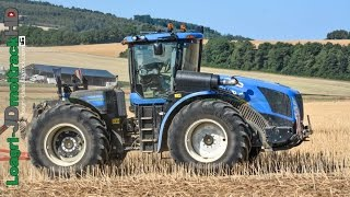 Biggest Tractor NEW HOLLAND T9 & HORSCH Terrano 6FM in France !!!
