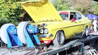 Ford Capri 2.0 Ohc Turbo - on Rolling Road Dyno(, 2013-10-20T20:26:09.000Z)