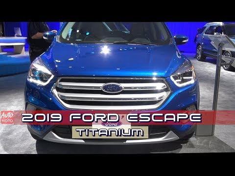 2019 Ford Escape Titanium - Exterior And Interior - LA Auto Show 2018