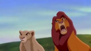 HD Simba and Zira and Kovu, The Lion King 2