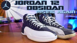Air Jordan 12 Obsidian Rising Again