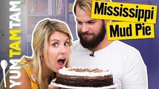 Der SCHOKOLADIGSTE Kuchen der WELT! // Mississippi Mud Pie // #yumtamtam