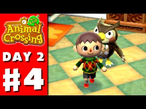 Animal Crossing: New Leaf - Part 4 - Museum Donation (Nintendo 3DS Gameplay Walkthrough Day 2)