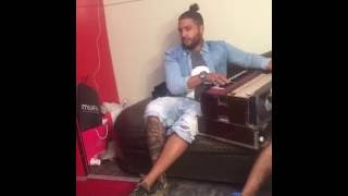 Sukhe Muzical Docterz Live On FB Singing All Singers Song During Practice