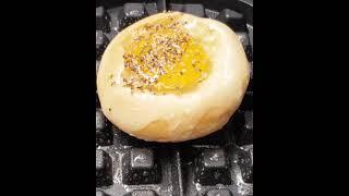 Egg Bread Roll  계란 모닝빵 와플기로