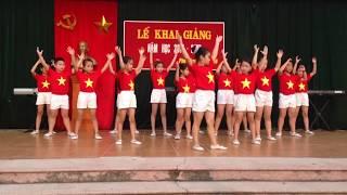 Múa: Việt Nam ơi - Tiểu học Phú Lãm 2016-2017