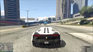 GTA 5 Online Course Custom WTF SuperCar Curved Race !