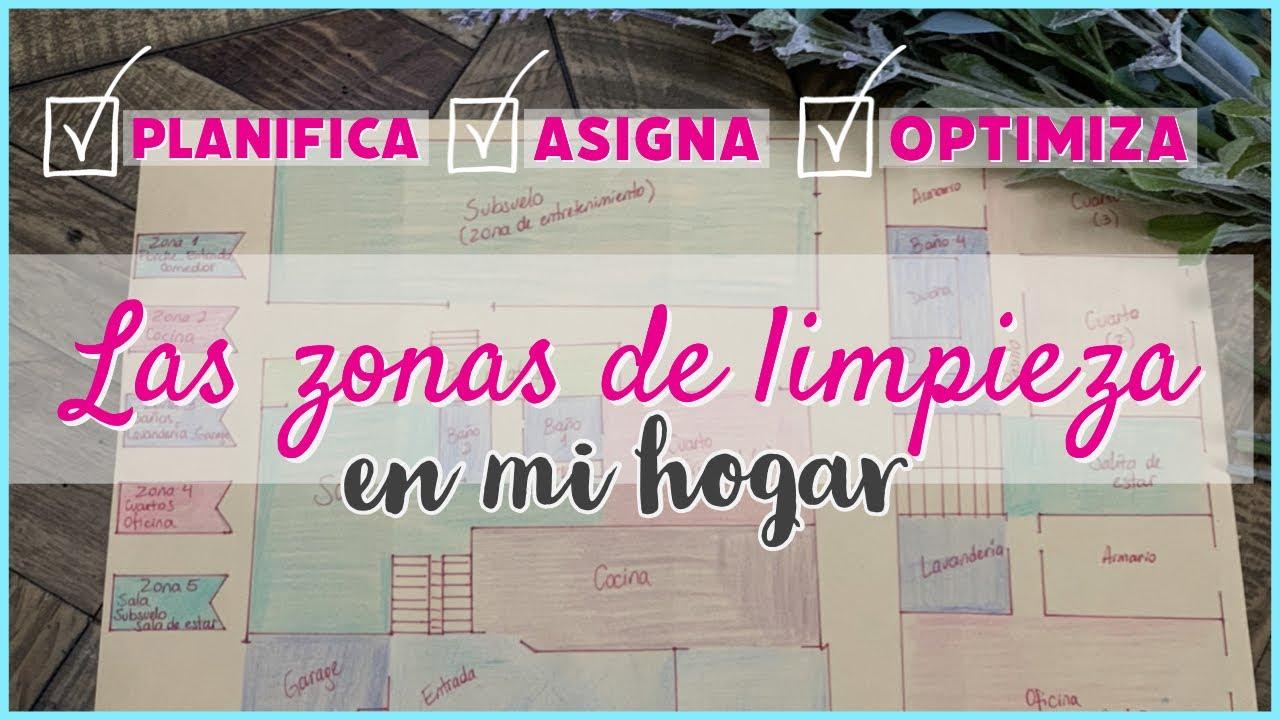 COMO ORGANIZARTE y PLANIFICAR LA LIMPIEZA EN TU HOGAR~ZONAS DE LIMPIEZA~RUTINAS DE ASEO~Semana #2