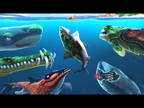 New Shark Skins Are Coming!    Hungry Shark Evolution [FHD-1080p]