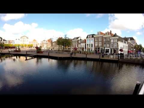 Hot Tourist Spot Leiden, South Holland - Bikes, Canals, Boats, Shopping