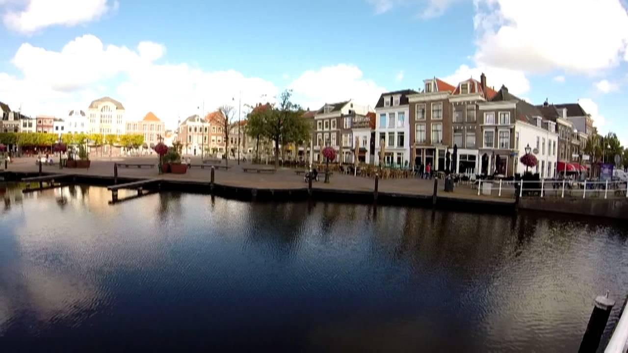 Hot Tourist Spot Leiden, South Holland - Bikes, Canals ...