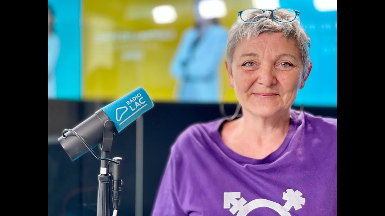 Jacqueline Ricciardi, membre de la Grève féministe