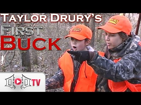 FIRST BUCK: Taylor Drury's First Buck!