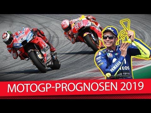 Gewinnt Valentino Rossi je wieder ein Rennen? - MotoGP 2019 (Prognose)