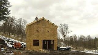DIY Home Build: Roof Eaves, Collar Ties, Bird Block