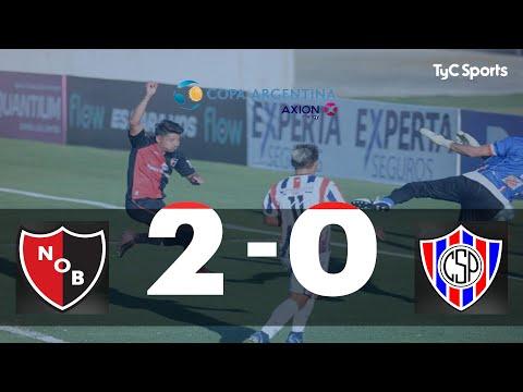 Newell's 2-0 Sportivo Peñarol (SJ)   Copa Argentina