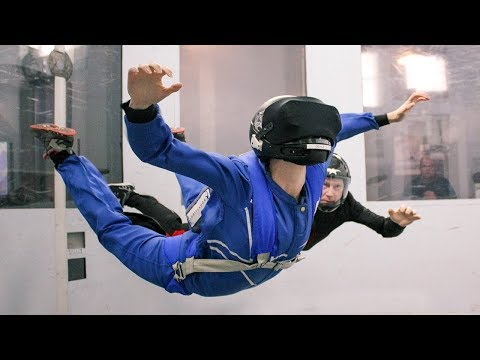 VR Indoor Skydiving