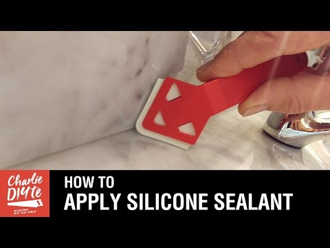 How to Apply Silicone Sealant - the Easy Way! - YouTube