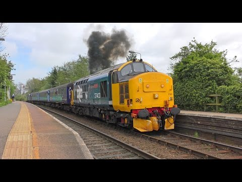 Norfolk Class 37's May 2017