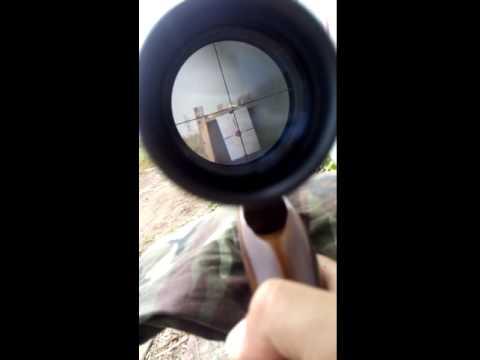 ทดสอบปืนอัดลม SHARP ACE รุ่น ANDALAS เบอร์ 1 ระยะ  30  ม. part 1