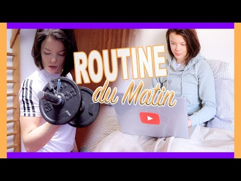 ROUTINE DU MATIN 2018 | Morning Routine - Claire