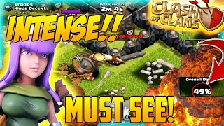 "Clash Of Clans | ""MOST INTENSE RAID IN COC HISTORY!"" 