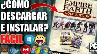Descargar Empire Earth Gold Edition para PC en español FÁCIL (FULL)