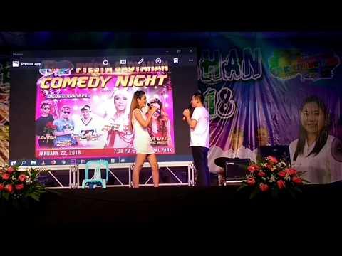 Comedian Regina Otic meet Aaron of Tantangan