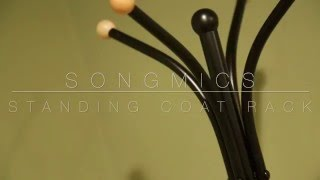 How to Assemble the Songmics Standing Coat Rack