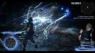 Final Fantasy XV - Level 82 Psychomancer boss fight - Death Penalty