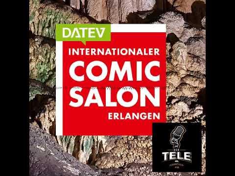 Interviewreihe @ 18. Internat. Comic Salon Erlangen 3/3 - Der  Tele-Stammtisch Special 020 #cse18