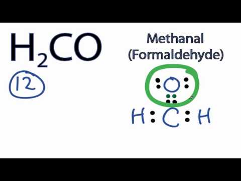 H2co Lewis Structure How To Draw The Lewis Structure For H2co Youtube